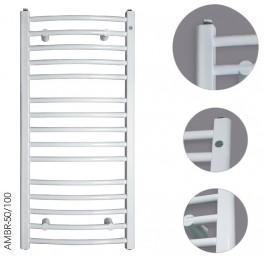 Grzejnik łazienkowy Instal-Projekt Ambra R AMBR-50/100 500x1038mm