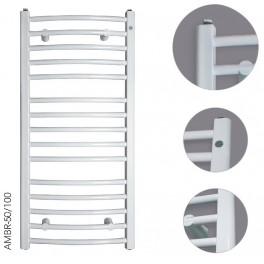 Grzejnik łazienkowy Instal-Projekt Ambra R AMBR-50/120 500x1230mm